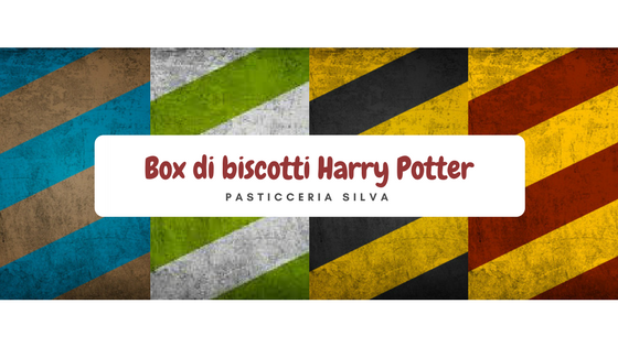 Box di biscotti Harry Potter