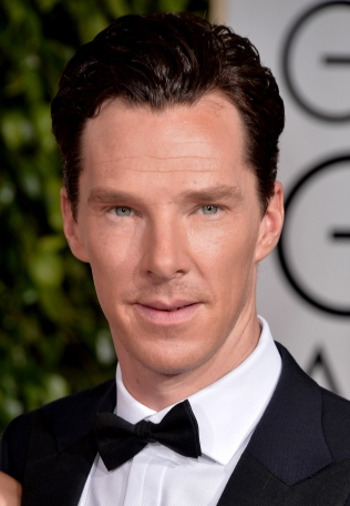 BEVERLY HILLS, CA - JANUARY 11: Actor Benedict Cumberbatch attends the 72nd Annual Golden Globe Awards at The Beverly Hilton Hotel on January 11, 2015 in Beverly Hills, California. (Photo by George Pimentel/WireImage)